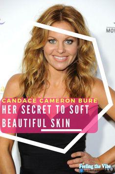 Candace Cameron Bure Skincare - Reveals Secret to Beautiful Skin!  Click the photo.  #CandaceCameronBure #Skincare #Makeup