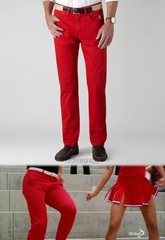 Pants. Darren Criss