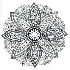 Free mandala coloring pages for adults - Coloring Pages & Pictures - IMAGIXS