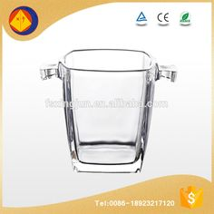 China good supplier special belvedere square double wall corona ice bucket