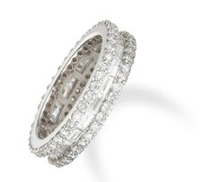 2.4 Carat Diamond Eternity Ring in 18k White Gold only $6,500.00 - Wedding Bands