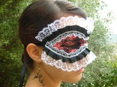 Victorian Mask women's gothic steampunk neo by karmelidesigns, $28.00