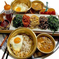 ✵pinterest: @mayllxx2 Cute Food, Good Food, Yummy Food, K Food, Food Porn, Aesthetic Food, Korean Food, Food Dishes, Asian Recipes