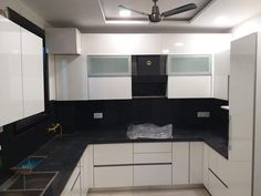 Beautiful Kitchen Designs, Beautiful Kitchens, Kitchen Room Design, Kitchen Cabinets, Home Decor, Design Of Kitchen, Decoration Home, Room Decor, Kitchen Base Cabinets
