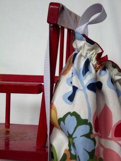 Morning by Morning Productions: Drawstring Bag Tutorial