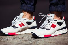 NEW BALANCE X J.CREW – MADE IN USA M998 INDEPENDENCE DAY #sneakers #collab #NewBalance #JCrew #M998 #IndependenceDay