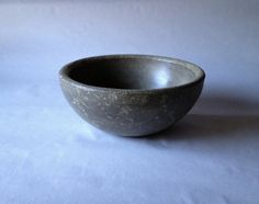 Concrete Serving Bowl  Marbled Design  Rustic by BungalowStreet, $42.00