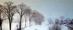 'Landscape' - Oil on Canvas