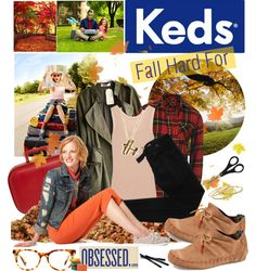 """Fall Hard for Keds"" by edenslove ❤ liked on Polyvore"