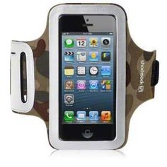 bd1318113ca8 iPhone 5   5S Shocksock Reflective Sports Armband   Case   Cover   Holder -  Camouflage