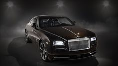Скупе Wraith «Inspired by Music» Rolls-Royce вспомнил рок-н-ролл