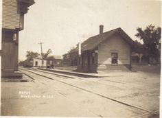 Train Depot 1907