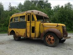 3 window Chevy School bus.   The bus has a hard to find, 3 window bus body made by the Superior Body Co. of Lima, Ohio.   The body of the bus is in relatively good shape. The majority of the rust that it does have is confined to the lower portions of the body, in the flat sheet metal. All of the side windows and frames are present. The rear emergency door opens and closes like it should.  The front of the bus is standard body parts for 1939-40 Chevrolet.