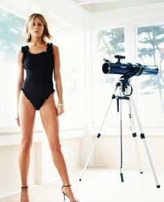 Now this will inspire me to exercise more...what a body!!! Jennifer Aniston, by Michael Thompson