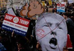 Victoria de Trump desata diversas protestas en EU