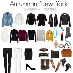 """Autumn in New York"" by keneisess on Polyvore"