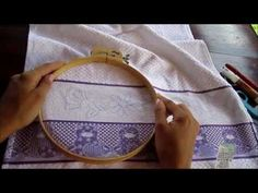 Russian punchneedle embroidery - part I - materials