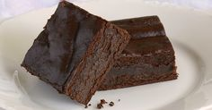 High Protein Super Fudgy Brownies from Bariatric Eating. Sugar Free Desserts, Low Carb Desserts, Low Carb Recipes, Bean Recipes, Ww Recipes, Bariatric Eating, Bariatric Recipes, Bariatric Surgery, Healthy Baking