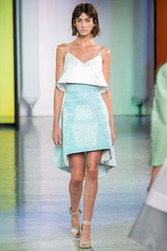 Pretty Pilotto Skirt for the Mix.  Peter Pilotto Spring 2014 Ready-to-Wear Collection Slideshow on Style.com