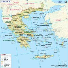 The country of Greece was the destination of Paul's second missionary journey.