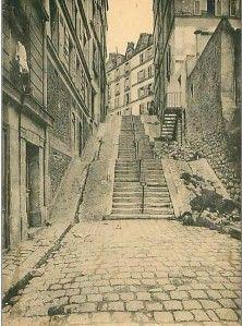Passage des Abbesses - Montmartre - Paris  montmartre-secret.com
