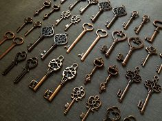 Hey, I found this really awesome Etsy listing at https://www.etsy.com/listing/105250111/100-keys-to-the-kingdom-100-antique