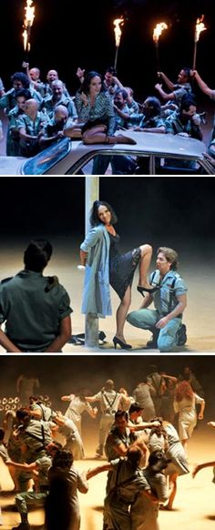 """Representació de l'òpera """"Carmen"""", de Georges Bizet. Gran Teatre del Liceu (Barcelona). Des del 17 d'abril fins al 2 de maig"""