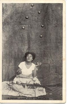 1942 postcard from Tonga- All the Tongans I know that are straight from da islands are good jugglers.