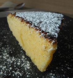 Un gâteau moelleux au lait concentré sucré...