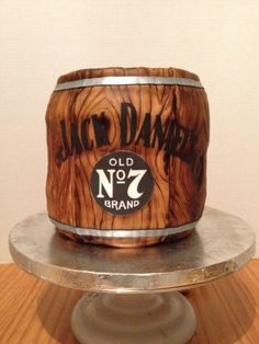 Jack Daniels Barrel By Punkilicious on CakeCentral.com