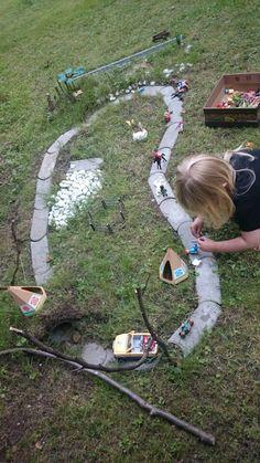 Kinder im Garten, Idee zum spielen