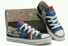 I love captain America and converse!!!