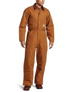 Carhartt Men's Quilt Lined Duck Coveralls,Brown,50 Carhartt https://www.amazon.com/dp/B000FXW5VY/ref=cm_sw_r_pi_dp_x_kT2jyb8BM112W  size 44 short