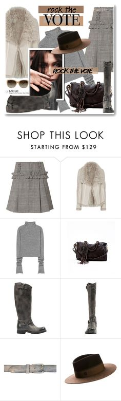 """""""Rock the Vote in Style and PaoloShoes"""" by paoloshoes ❤ liked on Polyvore featuring Marissa Webb, Helmut Lang, Acne Studios, Maison Michel and Tory Burch"""