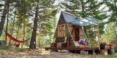 Tiny house: la microcasa solare costruita con materiali riciclati e soli 700 dollari (FOTO)