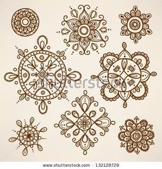 Henna tattoo elements by mmonet