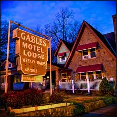 Gables Motor Lodge - on Wake Forest Rd. in the Mordecai area - has been here as long as I can remember. Credit: Goodnight Raleigh