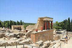 Crete - Knossos palace ruins