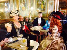 Caffè #Florian #Venezia San Marco - Florian #cafè in #Venice Saint Mark #travel #travelinspiration #italy #italia #veneto #carnival #carnevale