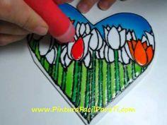 ▶ Corazon para Pintar 3 - Pintura Facil Para Ti.wmv - YouTube