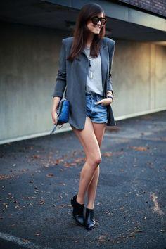 estilismo trabajo shorts