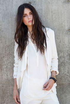 brochu walker.  all white, love it.