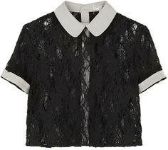 Opening Ceremony / Peter Pan Collar Blouse