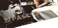 10 past 10, visual identity / logo design, by daily milk