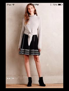 Fairview skirt by Anthropologie