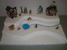 christmas village styrofoam - Google Search