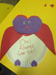 preschool valentine craft