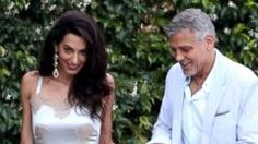 George and Amal Clooney Get Dressed Up for Date Night