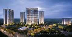 4 BHK + Srv Apartments with all modern amenities / facilities available for sale in Paras Dews Dwarka Expressway, Sector- 106, Gurgaon. Unit Area is 2275 Sq.Ft.