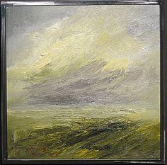 "Zayas painting ""LA Series CG VII"""